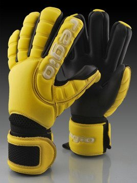 Rękawice Regio GIGA GRIP NEGATIVE YELLOW/BLACK