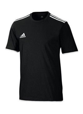 adidas Core II Tee Black White