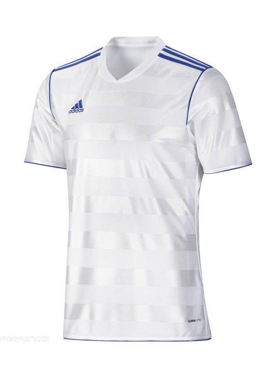 Koszulka TABE 11 JSY adidas (biało niebieska) | Odzież